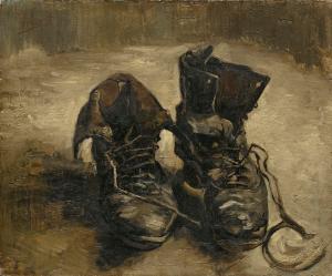 van gogh, shoes